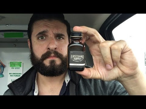 Firsthand Supply Beard Oil Review