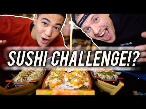 100 SUSHI ROLLS CHALLENGE!