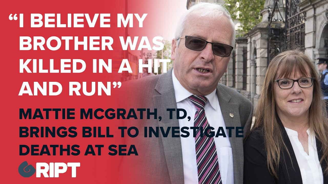 """""""I believe my brother John O'Brien and Pat Esmond were drowned by a hit and run..."""""""