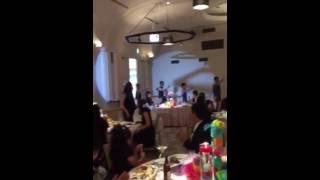 結婚式の余興でゴンゾーやってきました!