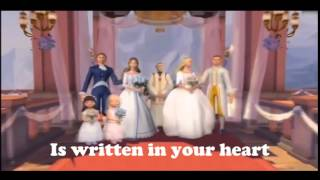 written in your heart (Karaoke)-barbie the princess and the pauper