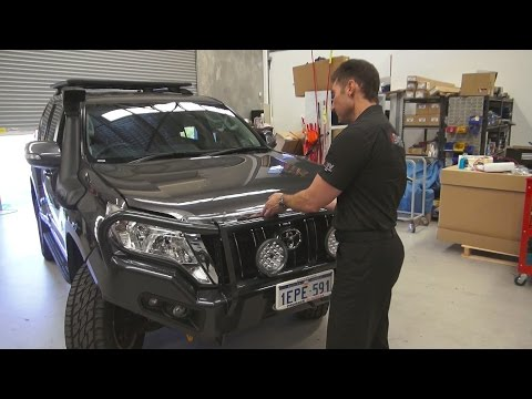Behind the scenes at Ultimate 4wd - Pauls 150srs Prado build continues