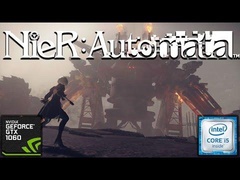 Nier: Automata | i5 6400 GTX 1060 3GB | Gameplay (1080p) @60FPS