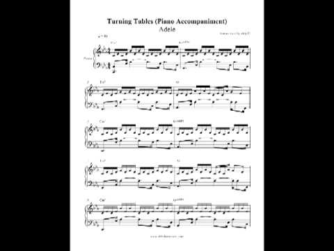 Turning Tables - Adele (Piano Accompaniment) by Aldy Santos