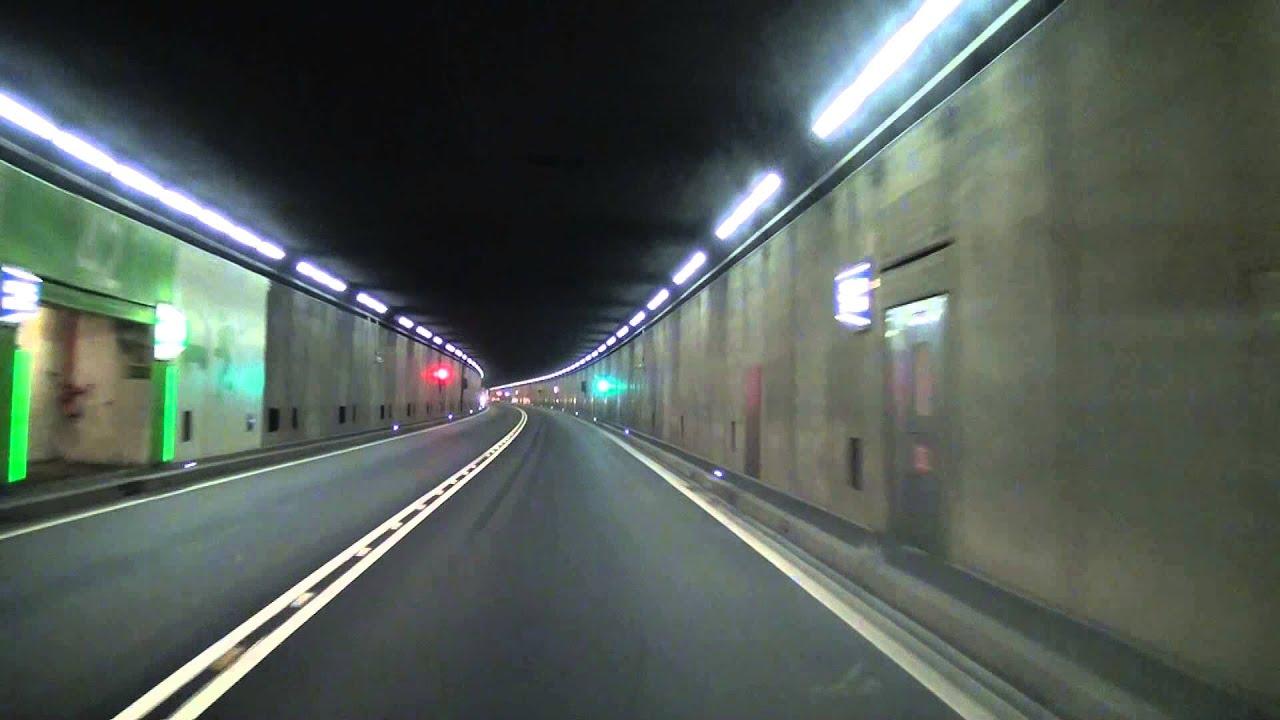 Driving Through The Km Gotthard Tunnel Switzerland Timelapse Fullhd Youtube