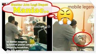 Viral, Foto Dokter Asyik Main  Game Mobile Legends Saat Tangani Pasien di ICU