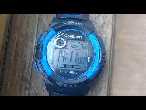 Часы S-Sport с Aliexpress. Обзор и настройка.