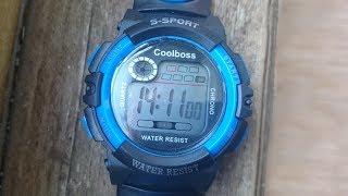 часы S-Sport с Aliexpress. Обзор и настройка