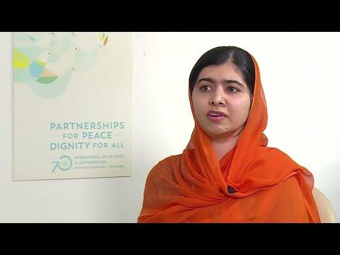 Malala Yousafzai asks Macron to invest 300 million dollars in education