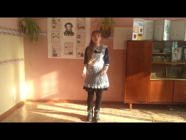Изображение предпросмотра прочтения – АлинаАбаева читает произведение «Обоз» И.А.Крылова