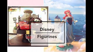 Ariel/Cars 3 Figures Unboxing & Review||Beast Kingdom