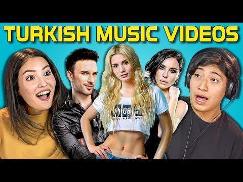 TEENS REACT TO TURKISH POP SONGS