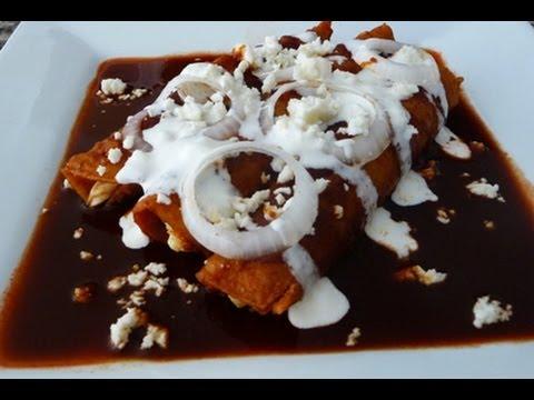 Enchiladas rojas mexicanas al estilo facilesrecetas wmv doovi