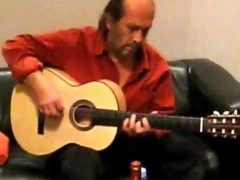 Paco de Lucia plays an Erez Perelman Flamenco Guitar Part 2