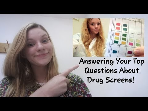 Employment Urine Screen Lab Tests & Answering Your Questions!!