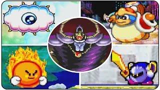 Kirby Nightmare in Dreamland - All Bosses