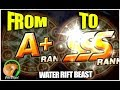 SUMMONERS WAR : Building a Water Beast Team from A+ to SSS!