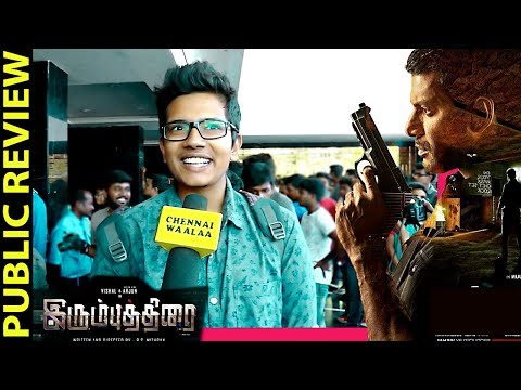 Irumbu Thirai Public Review | Vishal,...