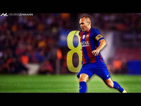 Andrés Iniesta ● Masterclass ● 2016/17 HD