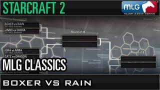Boxer Vs Rain - Round Of 32 - Mlg Classics Best Of The Best