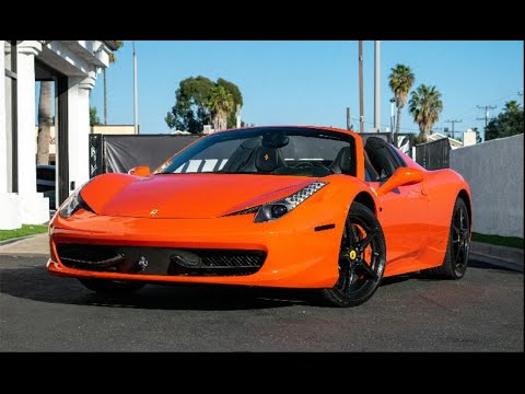 2013 Ferrari 458 Italia Lease Special | Amazon Leasing | Exotic Car Leasing