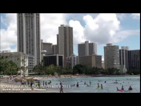 Honolulu, Hawaii Travel Guide 行った気になれる!ワイキキビーチ 2