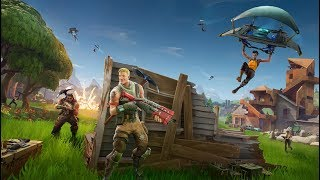 PLAYING 4 MAN SQUADS! POPPIN OFF AND GETTING WINS! PC FORTNITE BATTLE ROYALE!