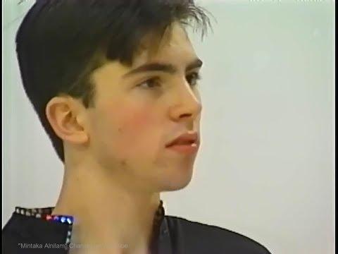 Michael Weiss  1993/1994 World Junior (Colorado Springs) Free Skating