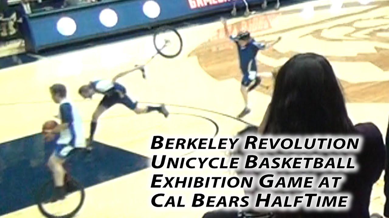 Faire Un Demi Terrain De Basket an unusual sport : the unicycle basketball – the circular