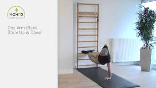 NOHrD Wallbars - One Arm Plank (en)