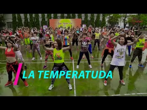 LA TEMPERATUDA   Zumba Fitness Vietnam   Zumba Dance Workout   Lazum3