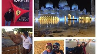 Quad Biking, Yas Mall, Ferrari World, Sheikh Zayed Mosque | Part 3