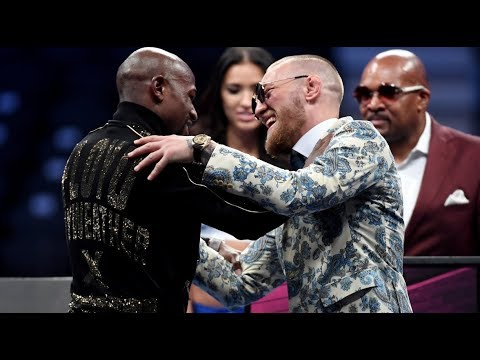 Floyd Mayweather and Conor McGregor: highlights of post-fight press conference