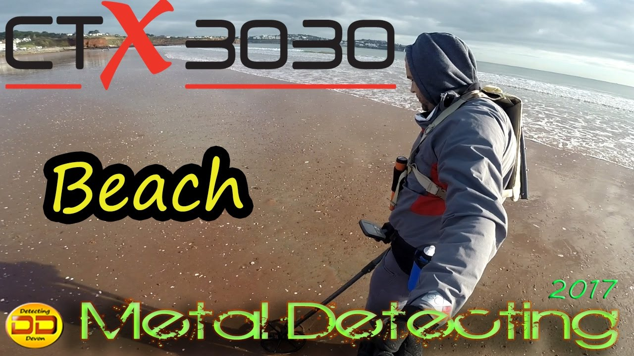 Metal Detecting ! Using the Minelab CTX 3030 - Beach Metal .