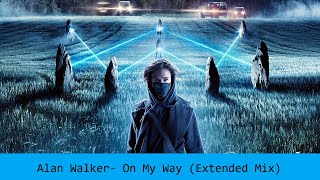 Alan Walker, Sabrina Carpenter & Farruko- On My Way (Extended Mix)