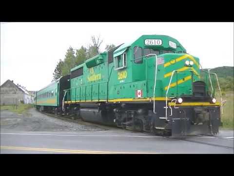 Maine Northern Railways Excursion Train Chase - 8/19/2017