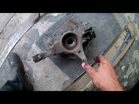 Замена передних ступичных подшипников FIAT Linea