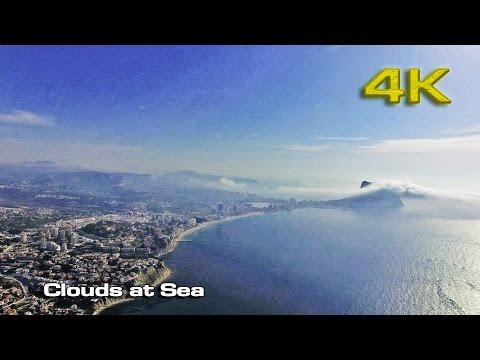Clouds at Sea DJI Pro [4K]