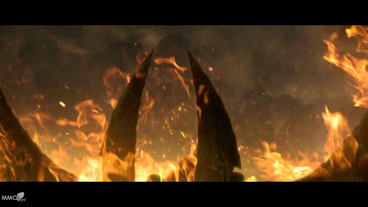 Animated Diablo 3 Wallpaper Diablo 3 Imperius Vs Diablo Cinematic Hell In Heaven Mmo