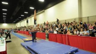Sydney Gonzales - Vault 2 - 2016 Women's Junior Olympic Championships