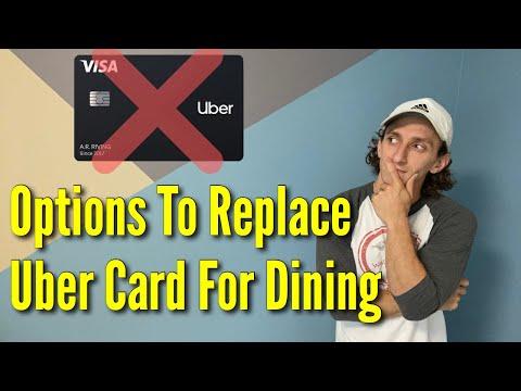 Cash Back Dining Credit Cards | Alternatives To Uber Card