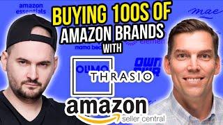 Thrasio Reveals How They're Buying 100's of Amazon FBA Brands - VP Acquisitions Ken Kubec Q\u0026A