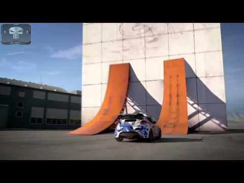Veloster Drifting On A Vertical Wall Is The Craziest Thing Ever