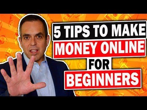 💥5 Tips To Make Money Online For Beginners 2019👇