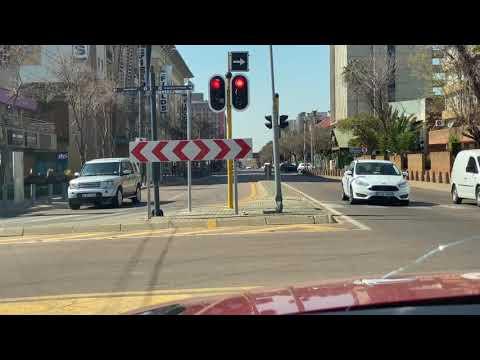 My Drive Through (Arcadia, Hatfield & Sunnyside) Suburbs in Pretoria, South Africa