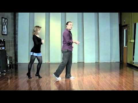 Leads (Men) Basic Footwork - Salsa Dancing Lesson (Dance Salsa!)