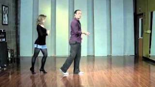 Leads (Men) Basic Footwork - Salsa Dancing Lesson (Dance Salsa!)
