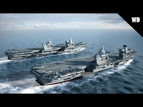 Queen Elizabeth Class Aircraft Carrier Information Video