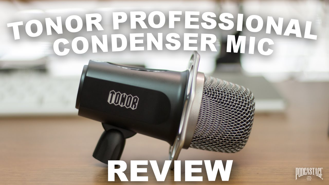 tonor professional condenser microphone review youtube. Black Bedroom Furniture Sets. Home Design Ideas