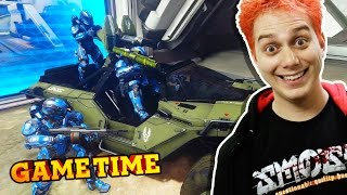 WARZONE TANK SQUAD IN HALO 5 (Gametime w/ Smosh Games)